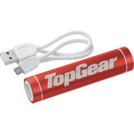 Bolt Aluminum Power Bank with Your Logo