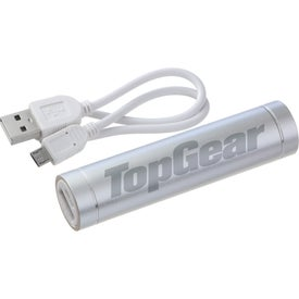 Bolt Aluminum Power Bank for Marketing
