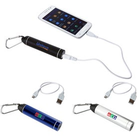 Bolt Power Bank with Carabiner