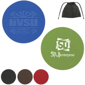 Printed Bonded Leather Coaster