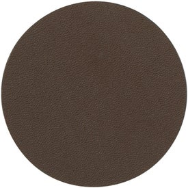 Bonded Leather Coaster Printed with Your Logo