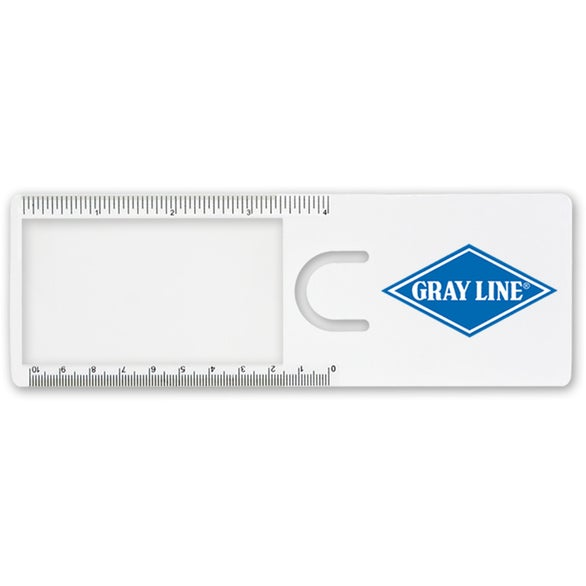 Book Mark Magnifier Ruler