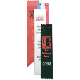 Bookmarks Award Ribbon Branded with Your Logo