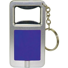 Branded Bottle Opener and LED Light