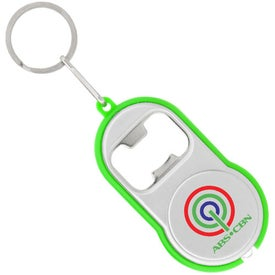 Bottle Opener Flashlight Imprinted with Your Logo