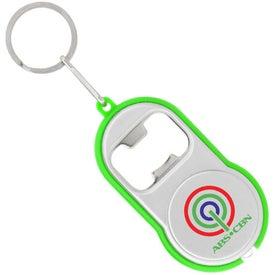 Bottle Opener Flashlight Imprinted with Your Logo