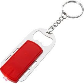 Bottle Opener Key Light Branded with Your Logo