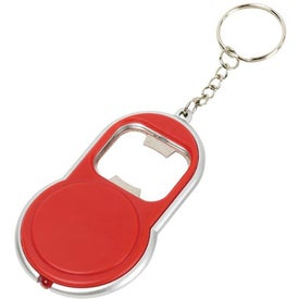Bottle Opener Keylight Imprinted with Your Logo