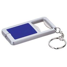 Monogrammed Bottle Opener LED Keylight