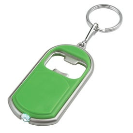 Bottle Opener Key Chain With LED Light for Customization