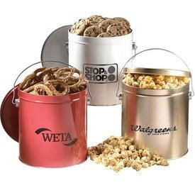 Bounty Tin (1 Gallon, Caramel Popcorn)