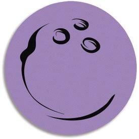Monogrammed Bowling Ball Jar Opener