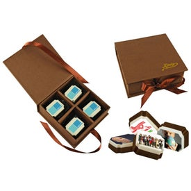 Branded Box of Fancy Chocolate
