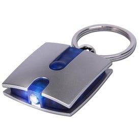 Promotional Boxy Light Keychain