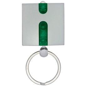 Boxy Light Keychain for Your Organization