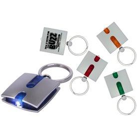 Printed Boxy Light Keychain