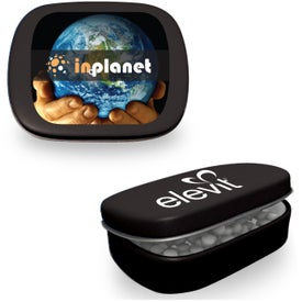 Hinged Mint Tin Printed with Your Logo