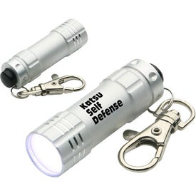 Logo Bright Shine LED Key Chain