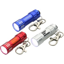 Bright Shine LED Key Chain for Your Company