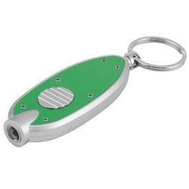 Bright Light Key Tag for Customization
