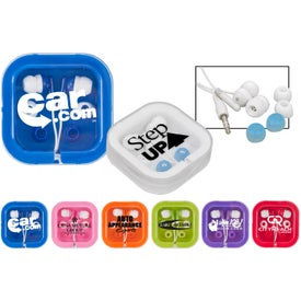 Customized Brightly Colored Ear Buds