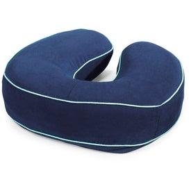 Personalized Brookstone Biosense Neck Travel Pillow