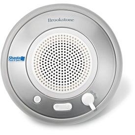 Brookstone Waterproof Bluetooth Speaker