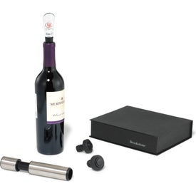 Brookstone Wine Enthusiast Kit Printed with Your Logo