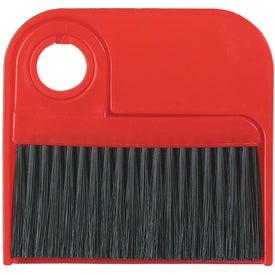 Monogrammed Broom and Dust Pan