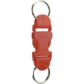 Buckle Key Tag with Your Logo
