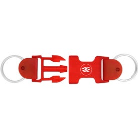 Buckle Keychain for your School