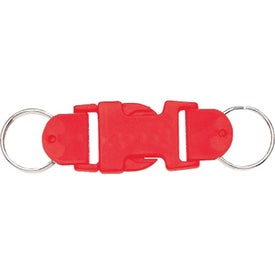 Customized Buckle-Up Key Tags