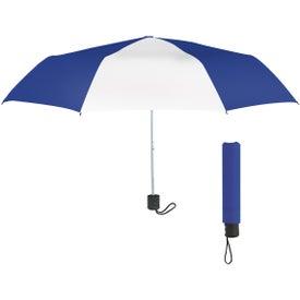 Monogrammed Budget Telescopic Umbrella