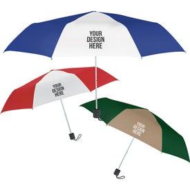 "Budget Telescopic Umbrella (42"" Arc)"