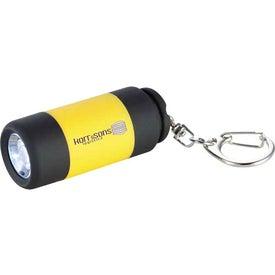 Promotional Bumble Mini Torch Key-Light