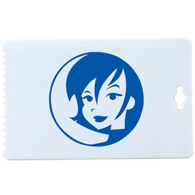 Business Card Ice Scraper Giveaways