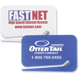 Business Card Letter Opener Imprinted with Your Logo