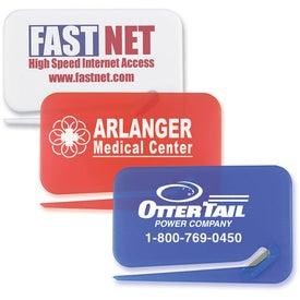 Advertising Business Card Letter Opener