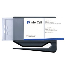 Imprinted Business Card Letter Opener