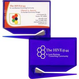Business Card Zippy Letter Opener