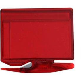 Banner Business Card Letter Opener with Staple Remover Giveaways