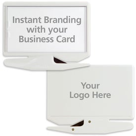 Promotional Business Card Letter Opener