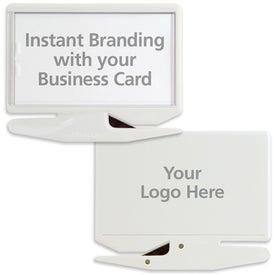 Promotional Business Card Letter Opener