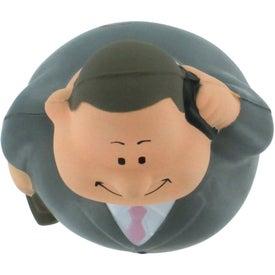 Business Man Bert Stress Reliever for Your Organization