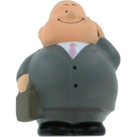 Branded Business Man Bert Stress Reliever