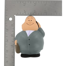 Promotional Business Man Bert Stress Reliever
