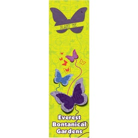 Advertising Butterfly Seed Shape Bookmark
