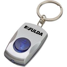 Company Button Key Tag Light
