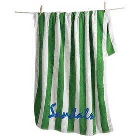 Cabana Striped Beach Towel
