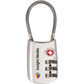 Imprinted Cable Lock'r